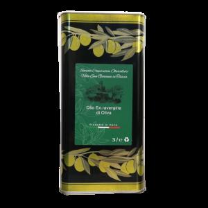 lattina olio extravergine tuscia