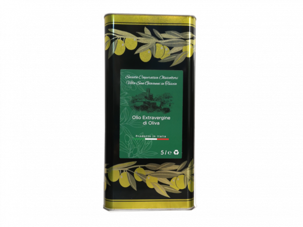 lattina 5lt olio extravergine