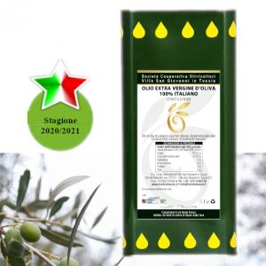 olio extra vergine di oliva 5 litri